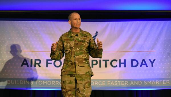 USAF Pitch Day by Tech Sgt. Anthony Nelson Jr.